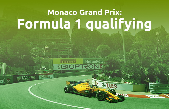 Monaco GP Formula 1 qualifying